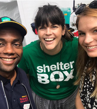 Volunteer for ShelterBox Australia