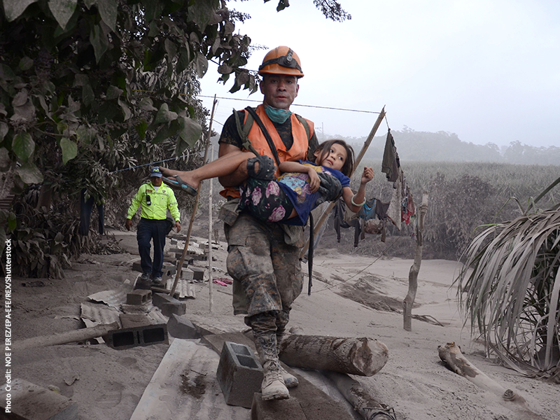 Guatemala has been left reeling by the most violent volcanic eruption since 1974.