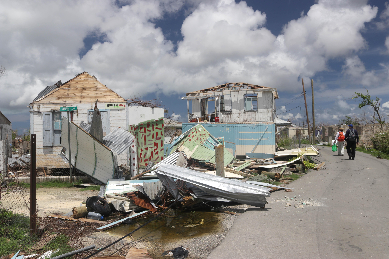 Hurricane Irma in Barbuda, 2017