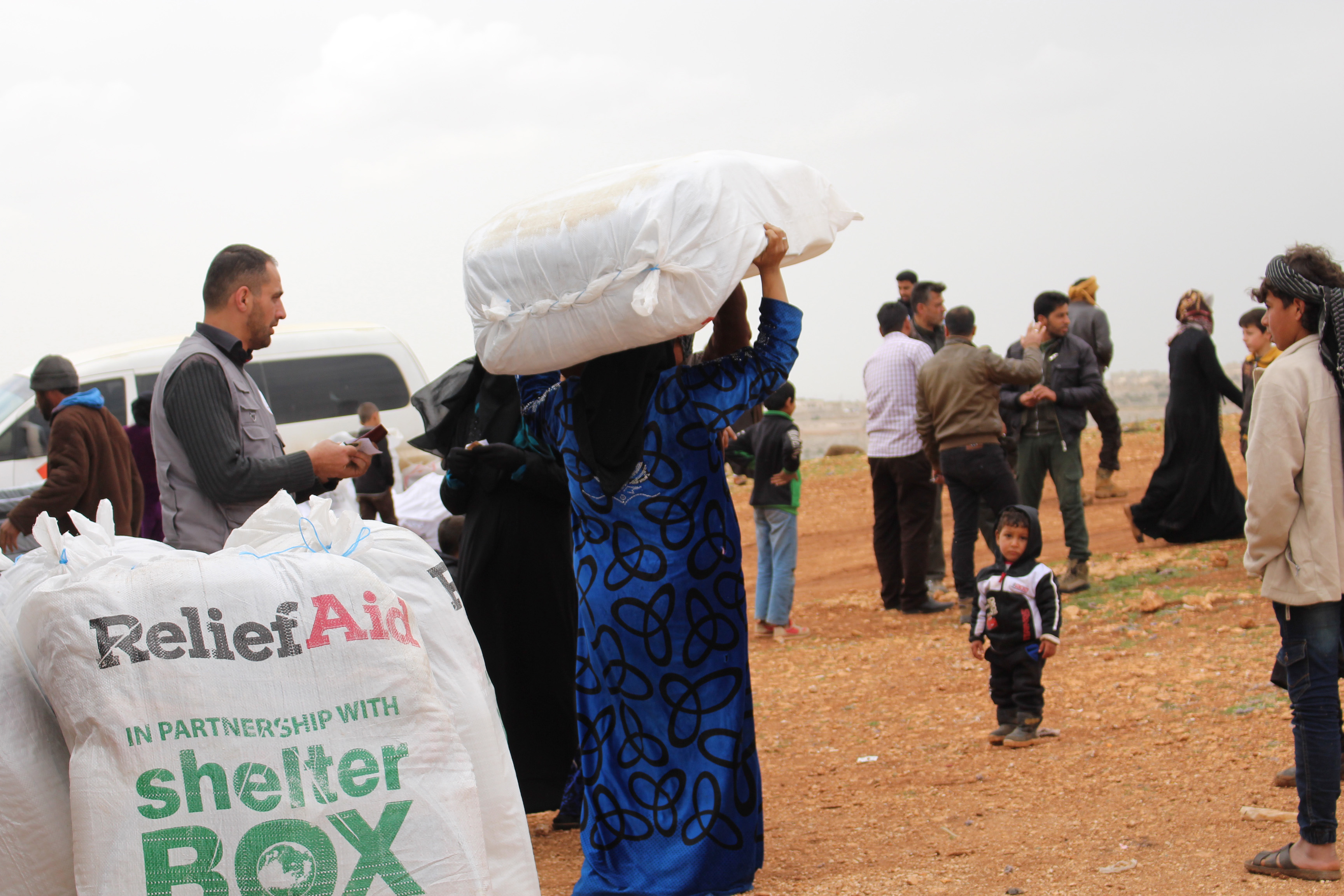 Aid arriving in Syria